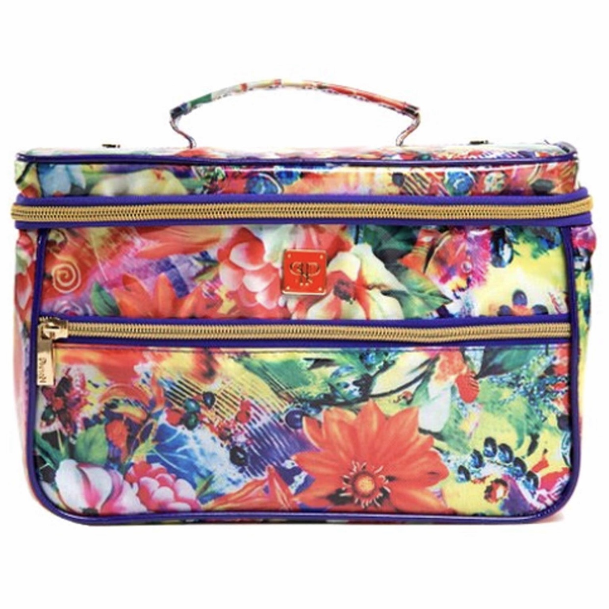 PurseN Tiara Large Vacationer Jewelry Case in Paradise Floral