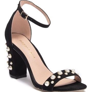 Madden Girl Bitsyy Embellished Ankle Strap Sandal