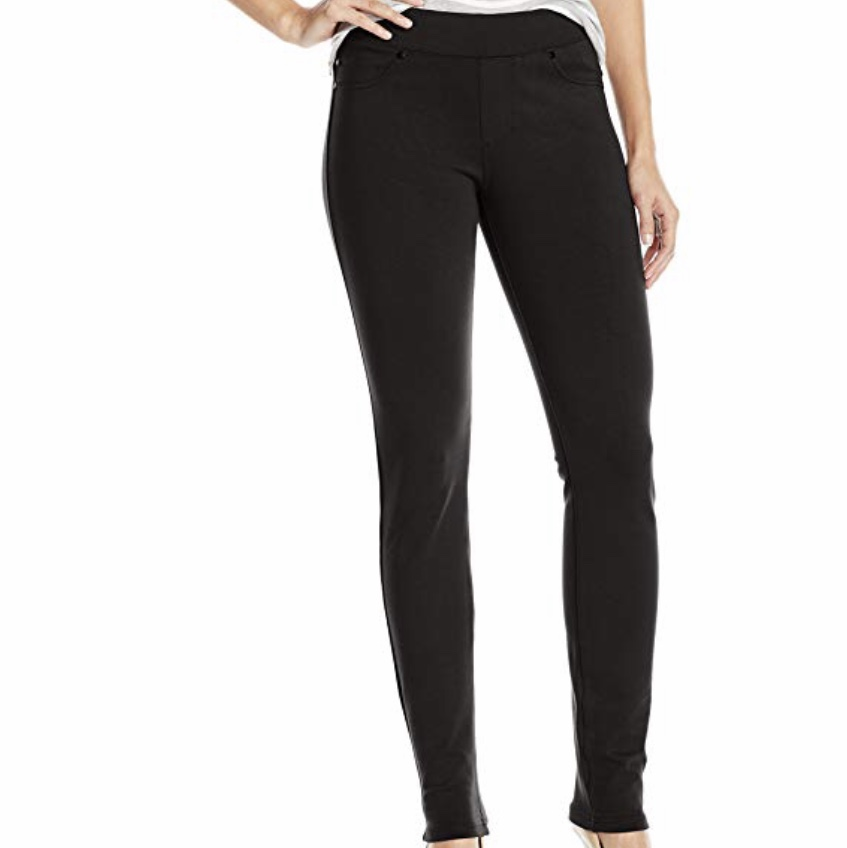 Liverpool Jeans Company Women's Quinn Ponte Stretch Pull On Legging
