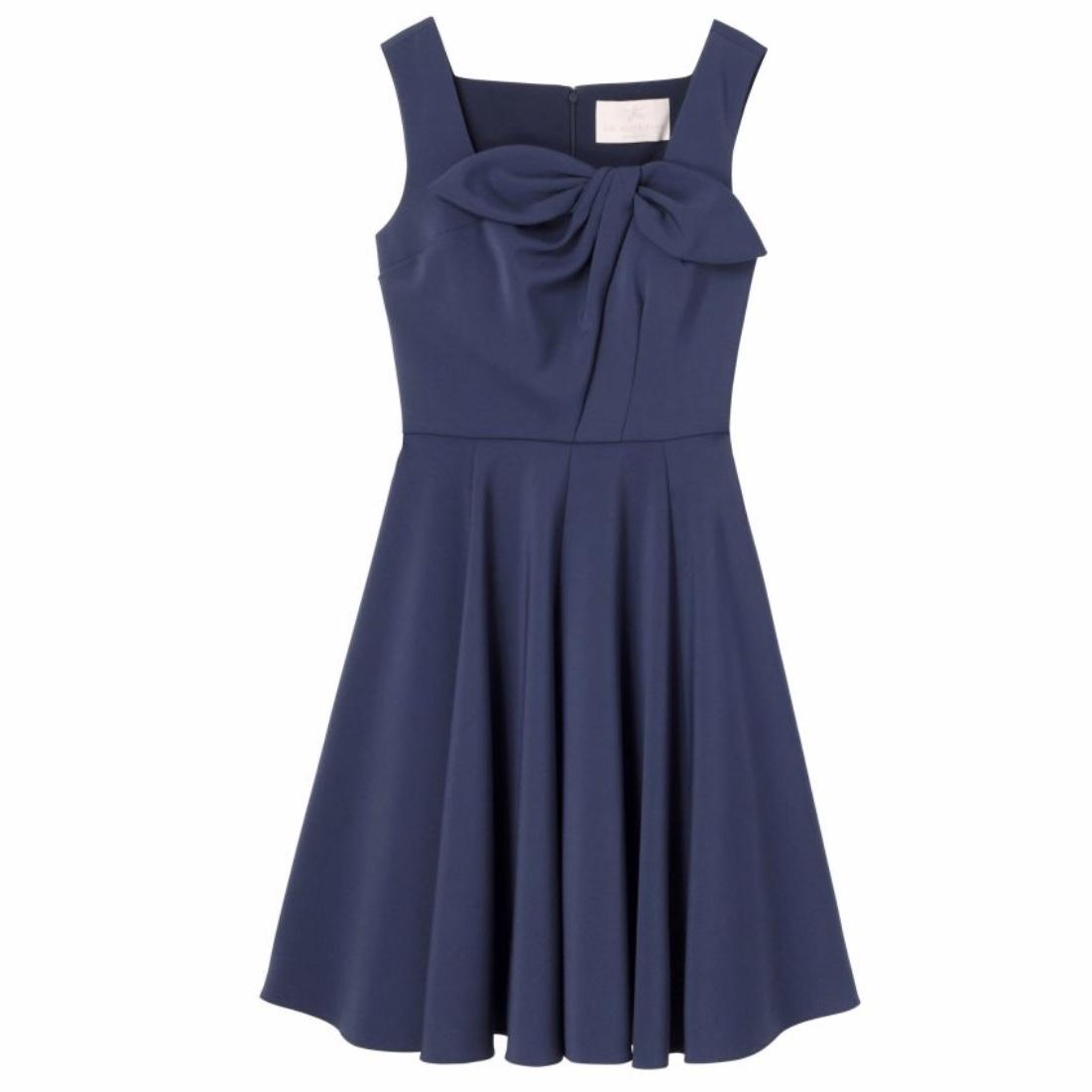 Gal Meets Glam Midnight Blue Zoe Dress