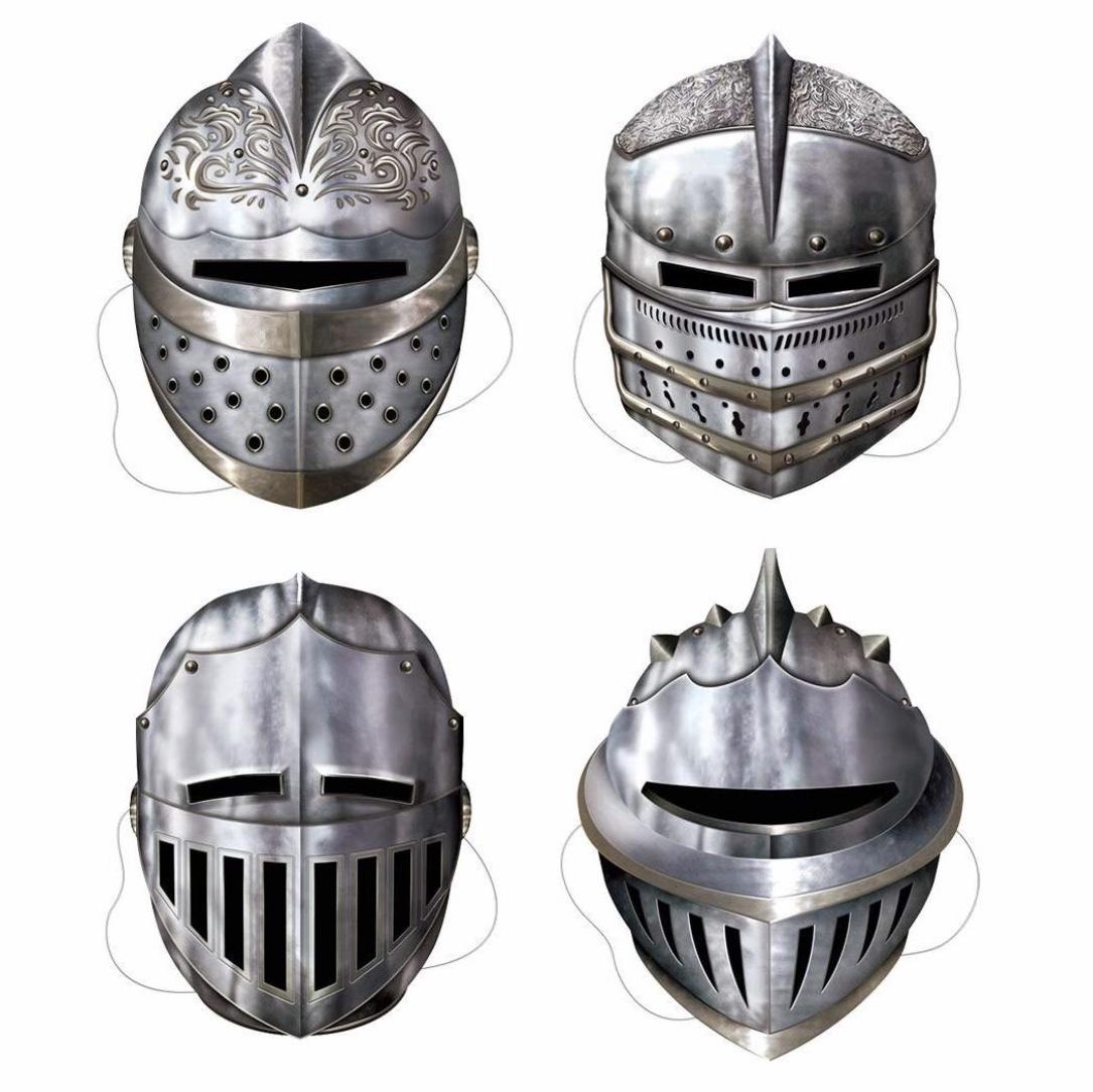 Medieval Knight Masks