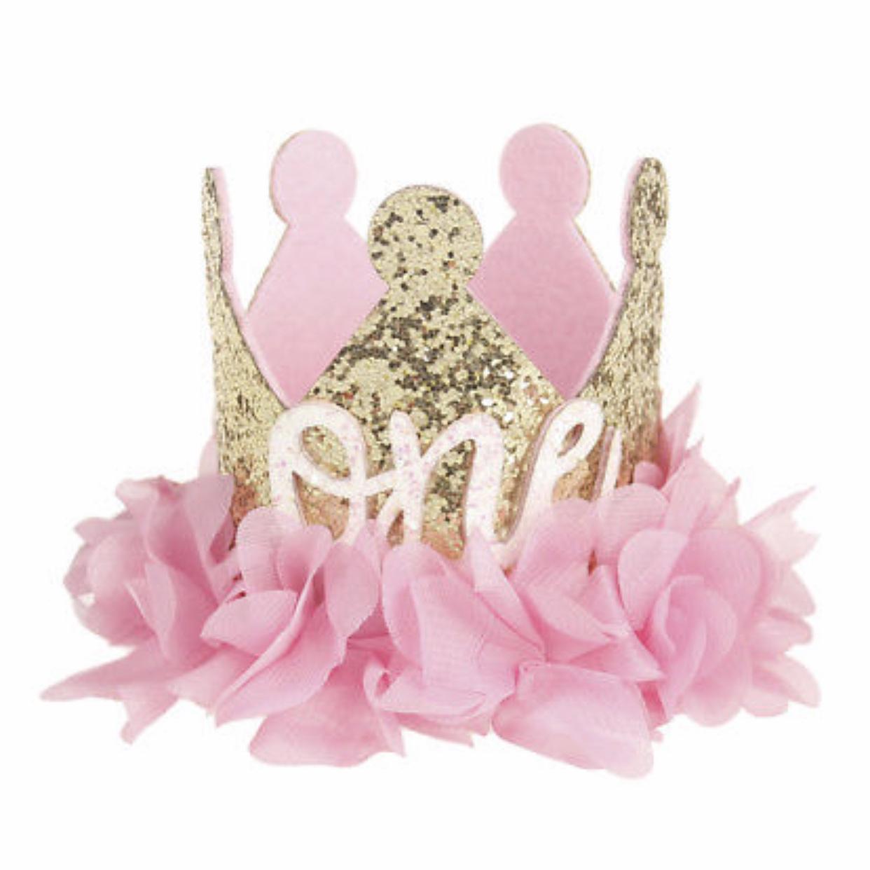 One Princess Flower Crown