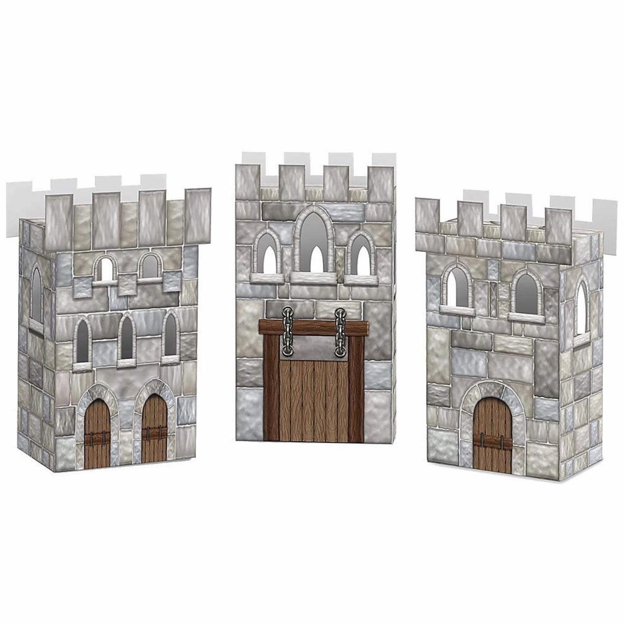 Castle Favor Boxes