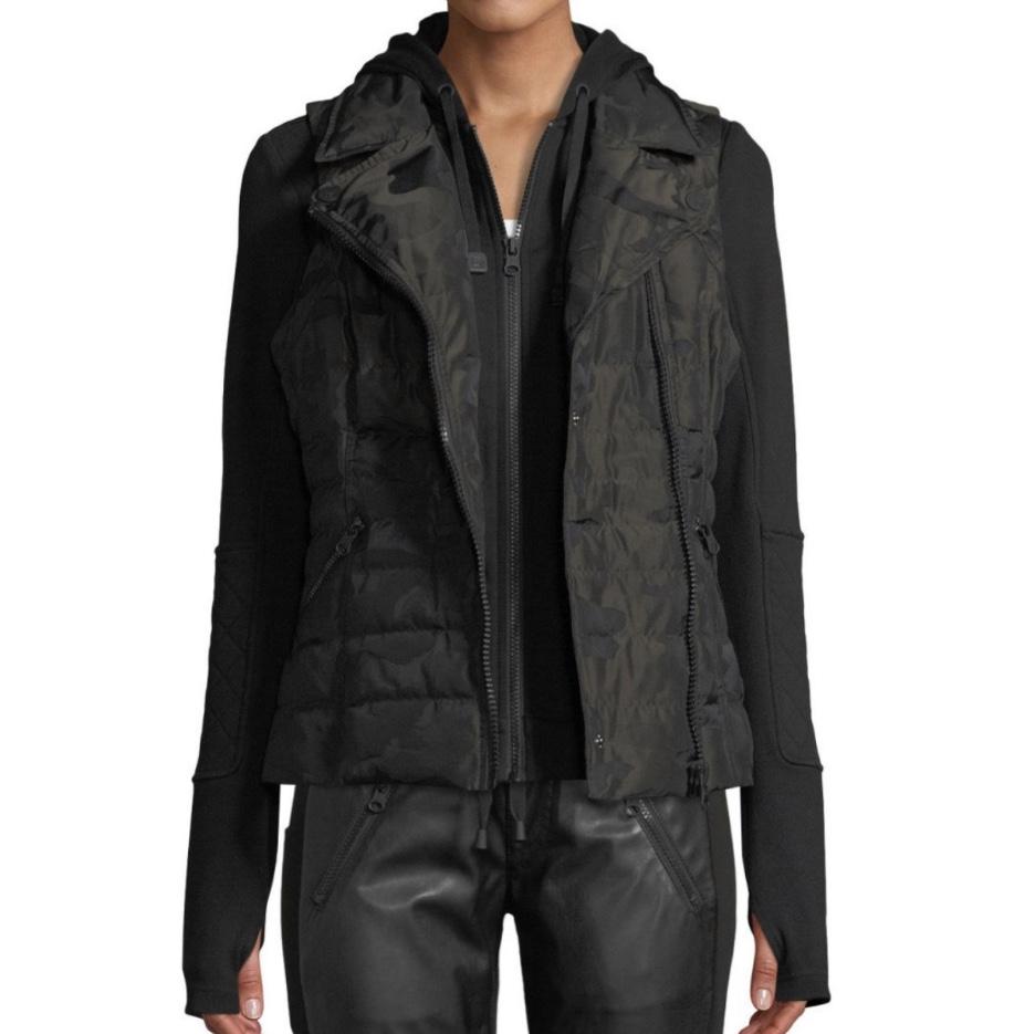 Blanc Noir 3-in-1 Camo-Print Packable Jacket