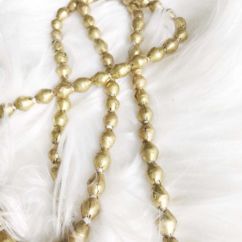 Jana Fleming Art Brass Layering Necklace