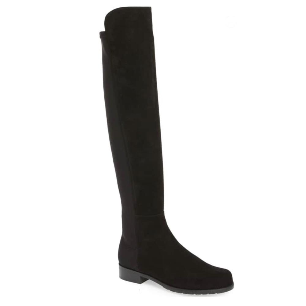 Stuart Weitzman 5050 Over-the-Knee Leather Boot