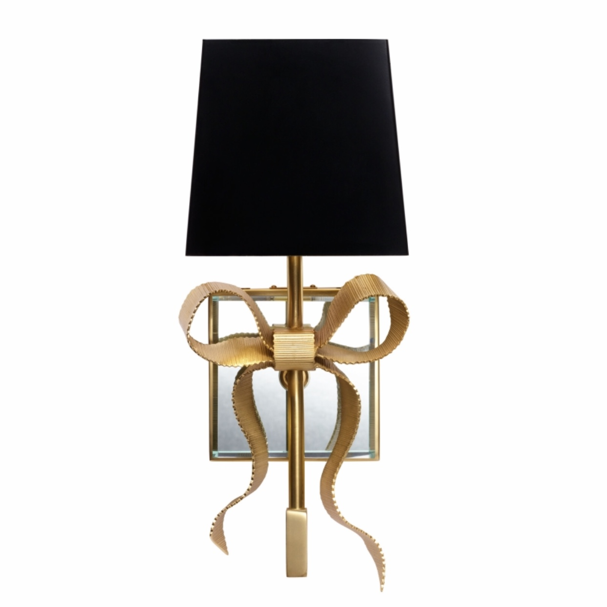 Tied Bow Shaded Sconce