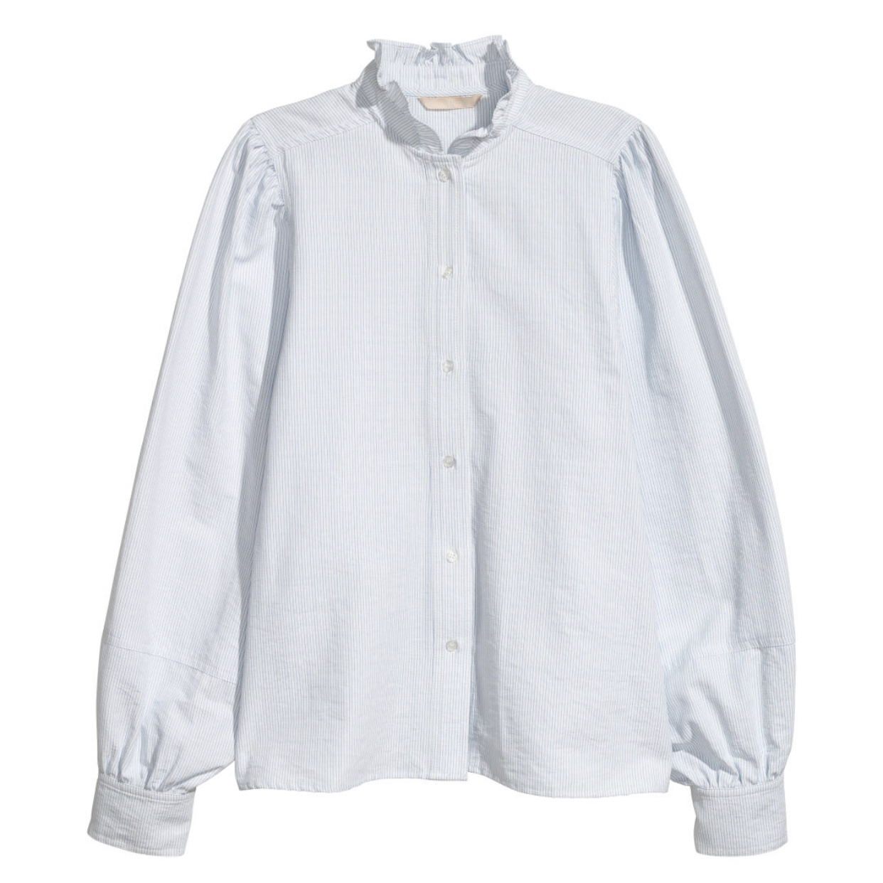 H&M Blouse with Ruffled Collar