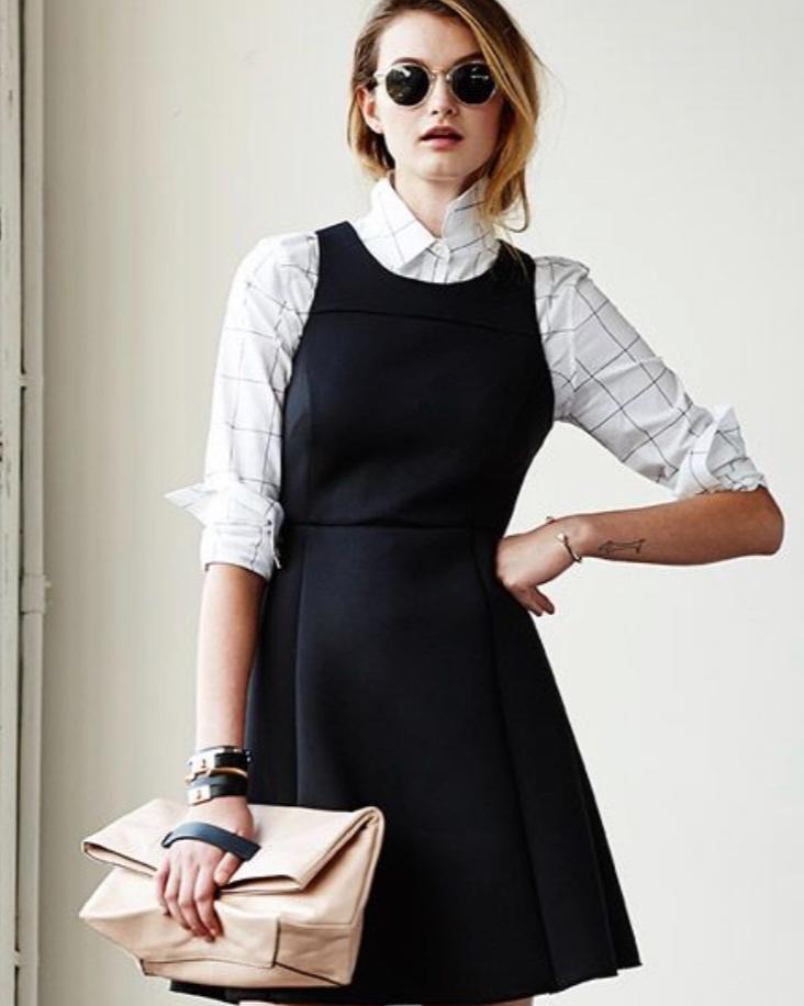 layering+grid+shirt+with+dress.jpg