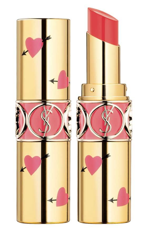 Yves Saint Laurent - Heart and Arrow Rouge Volupte Shine Collector Oil-in-Stick Lipstick