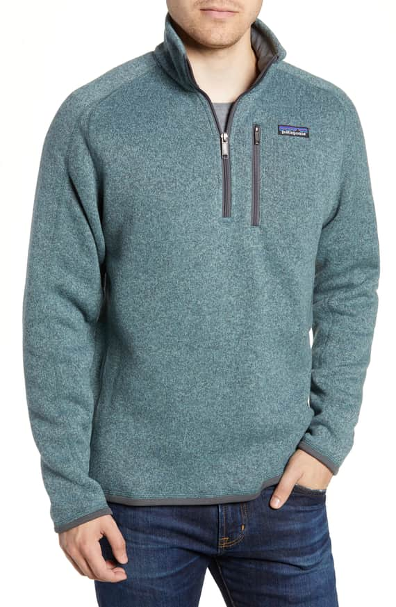 Patagonia - Better Sweater Quarter Zip Pullover