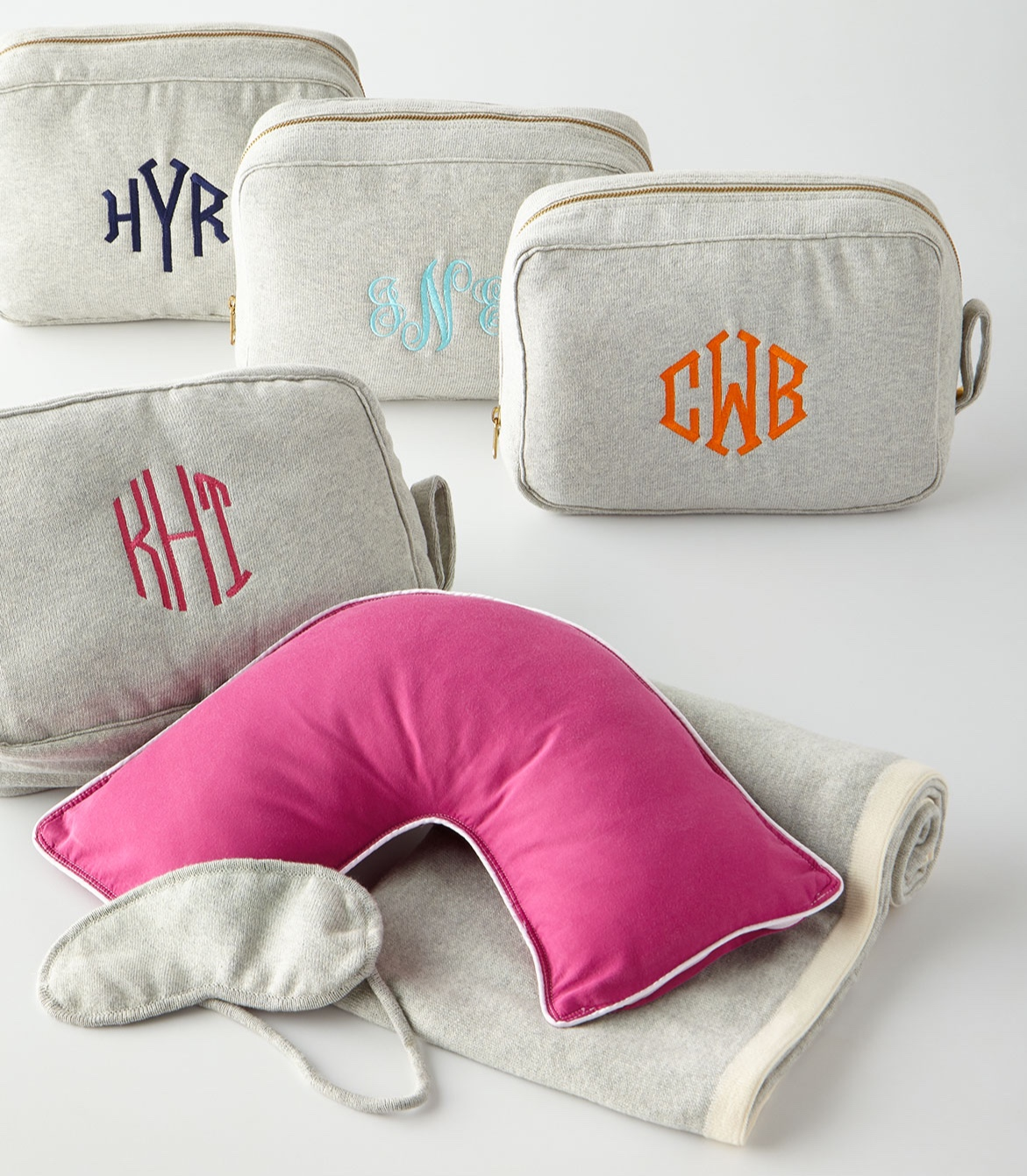 The Pillow Bar - Travel Companion Set, Personalized