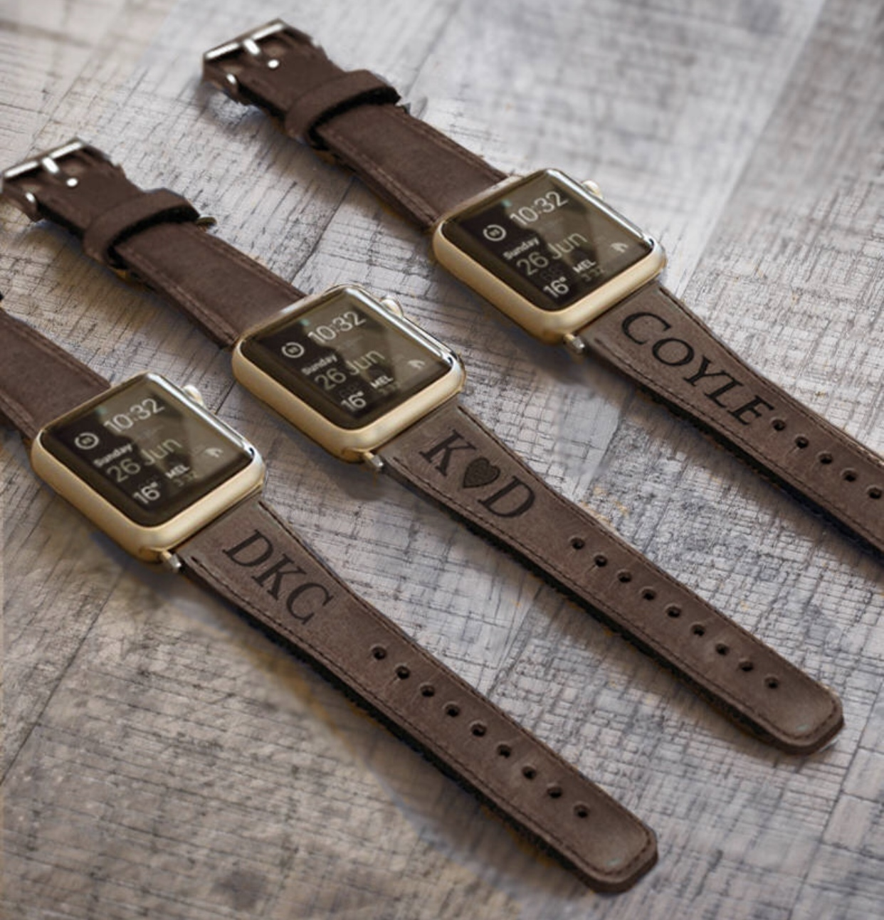 ByBarva - Personalized Men's Leather Watch Band