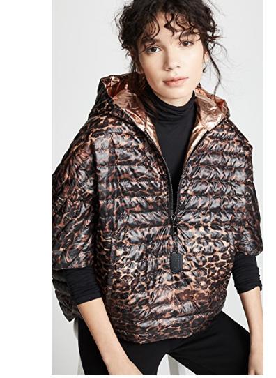 5. Think Royln Leopard Poncho