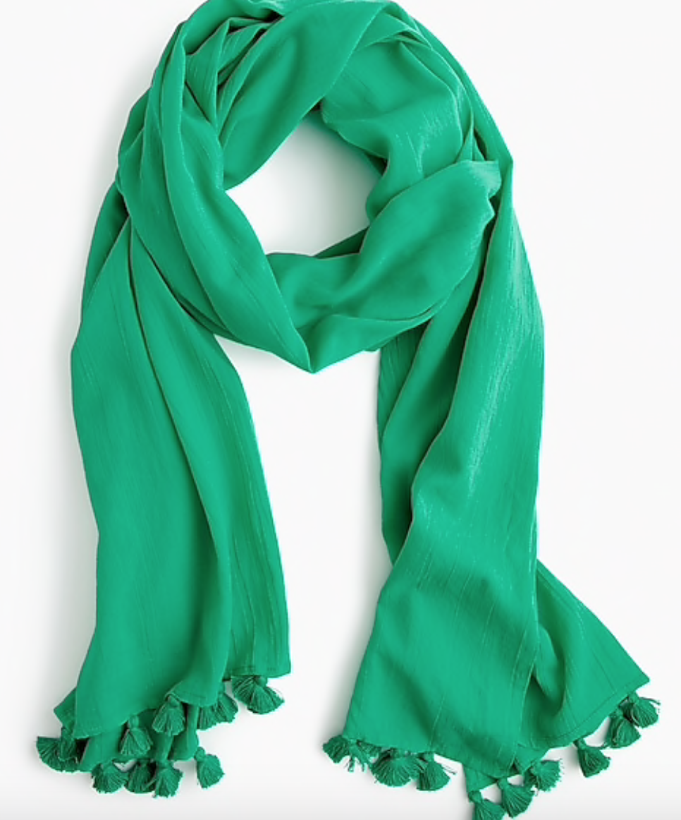 J. Crew Oversized Cotton Scarf -