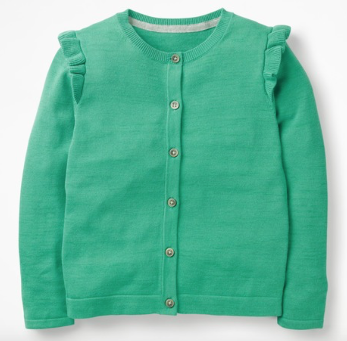 Mini Boden Frilly Cardigan -