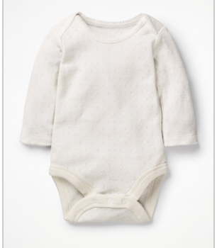 Supersoft Pointelle Bodysuit