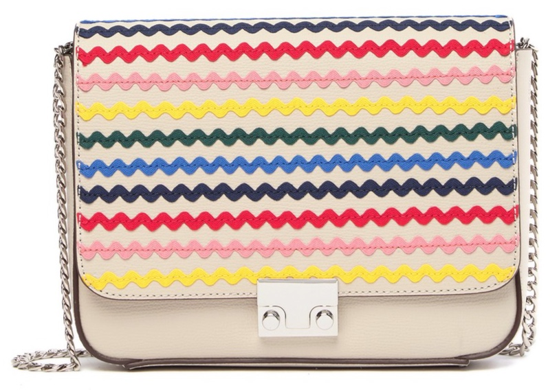 Loeffler Randall Rainbow Leather Shoulder Bag -