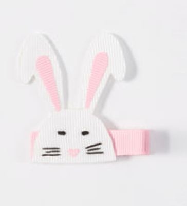 Hanna Andersson Bunny Favorite Things Hair Clip -