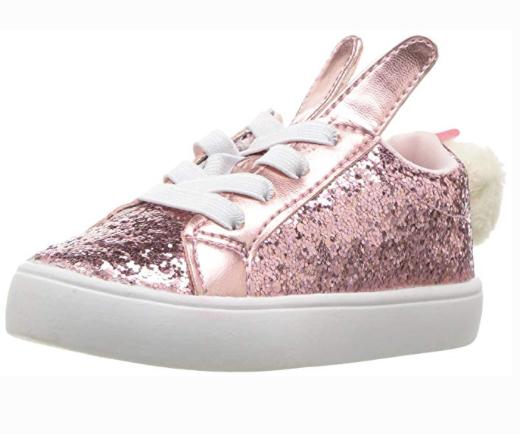 Carter's Teresina Girl's Novelty Glitter Sneaker -