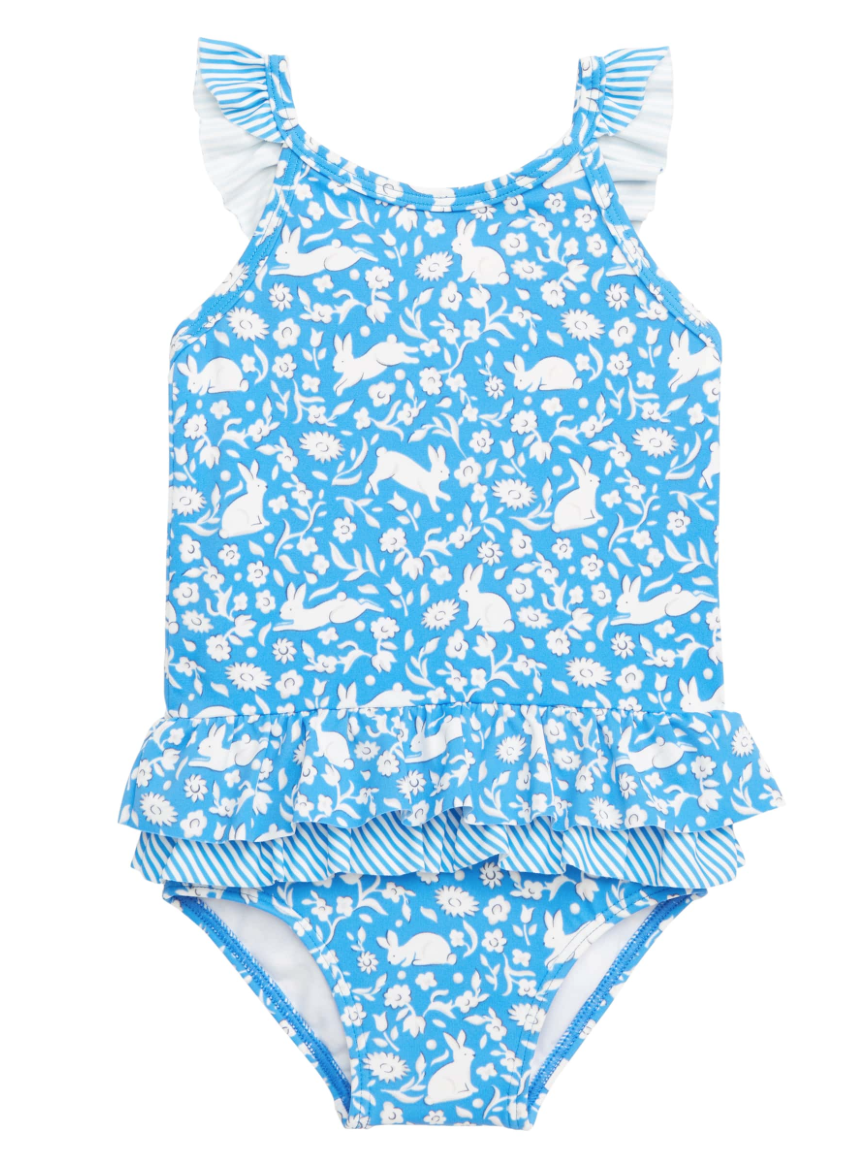 Mini Boden Pretty Frill One-Piece Swimsuit -