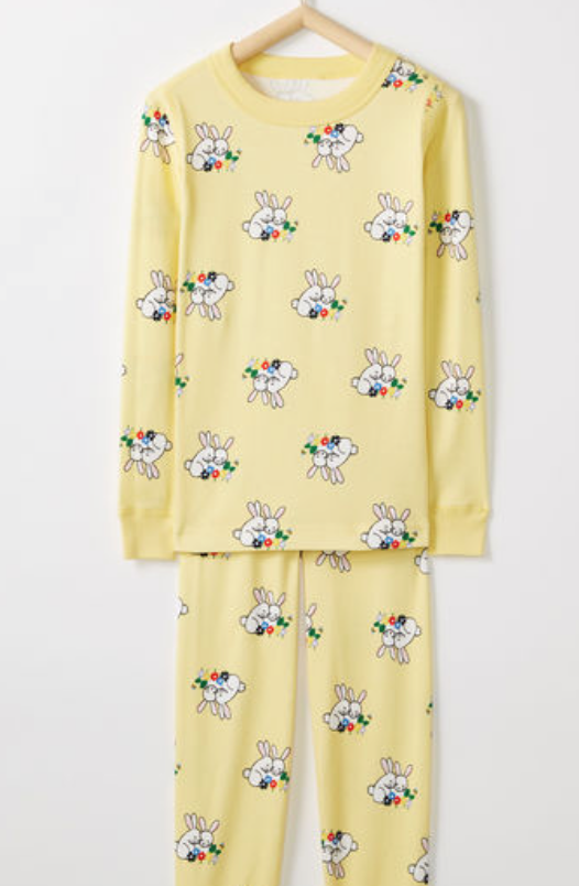 Hanna Andersson Long John Pajamas In Organic Cotton -