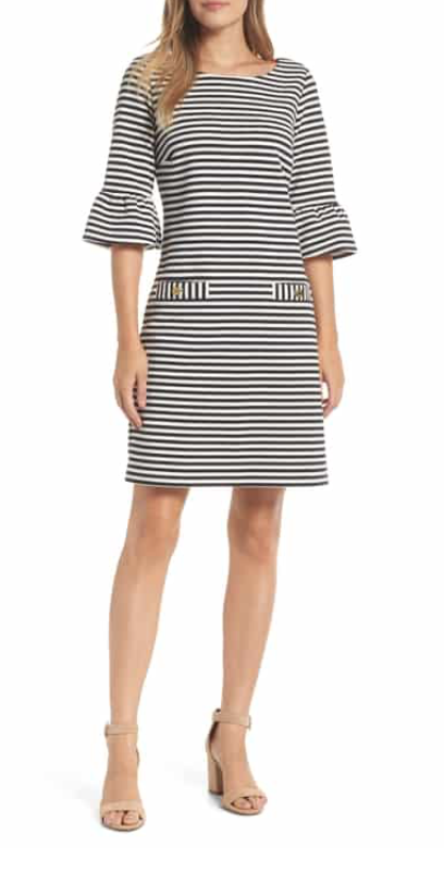 Lilly Pulitzer Alden Stripe Shift Dress