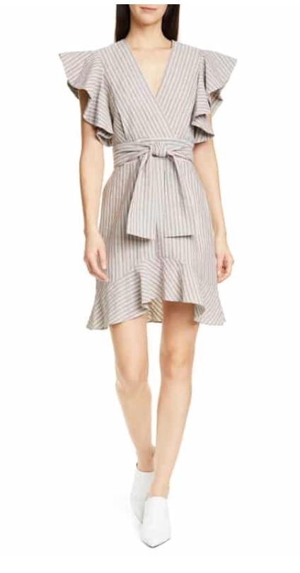 Robert Rodriguez Basia Stripe Dress