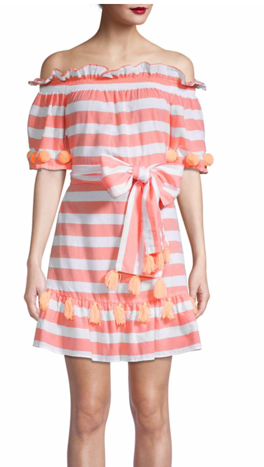 Sundress Lily Striped Dress