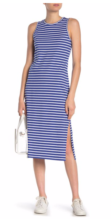Derek Lam 10 Crosby Striped Tank Dress