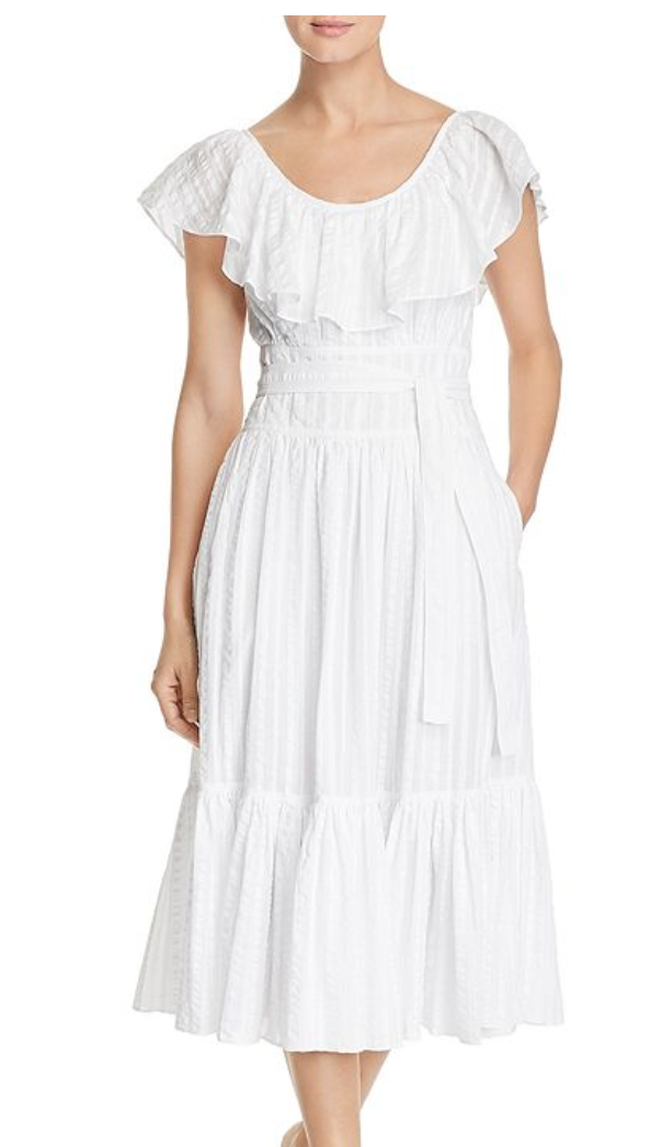 Tory Burch Seersucker Dress