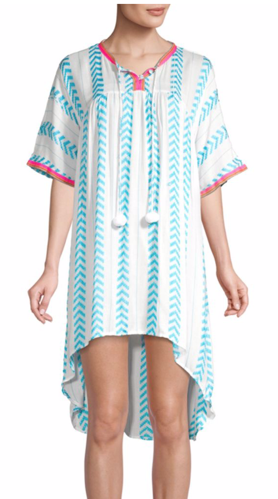 Pitusa Lala Chevron Stripe Dress