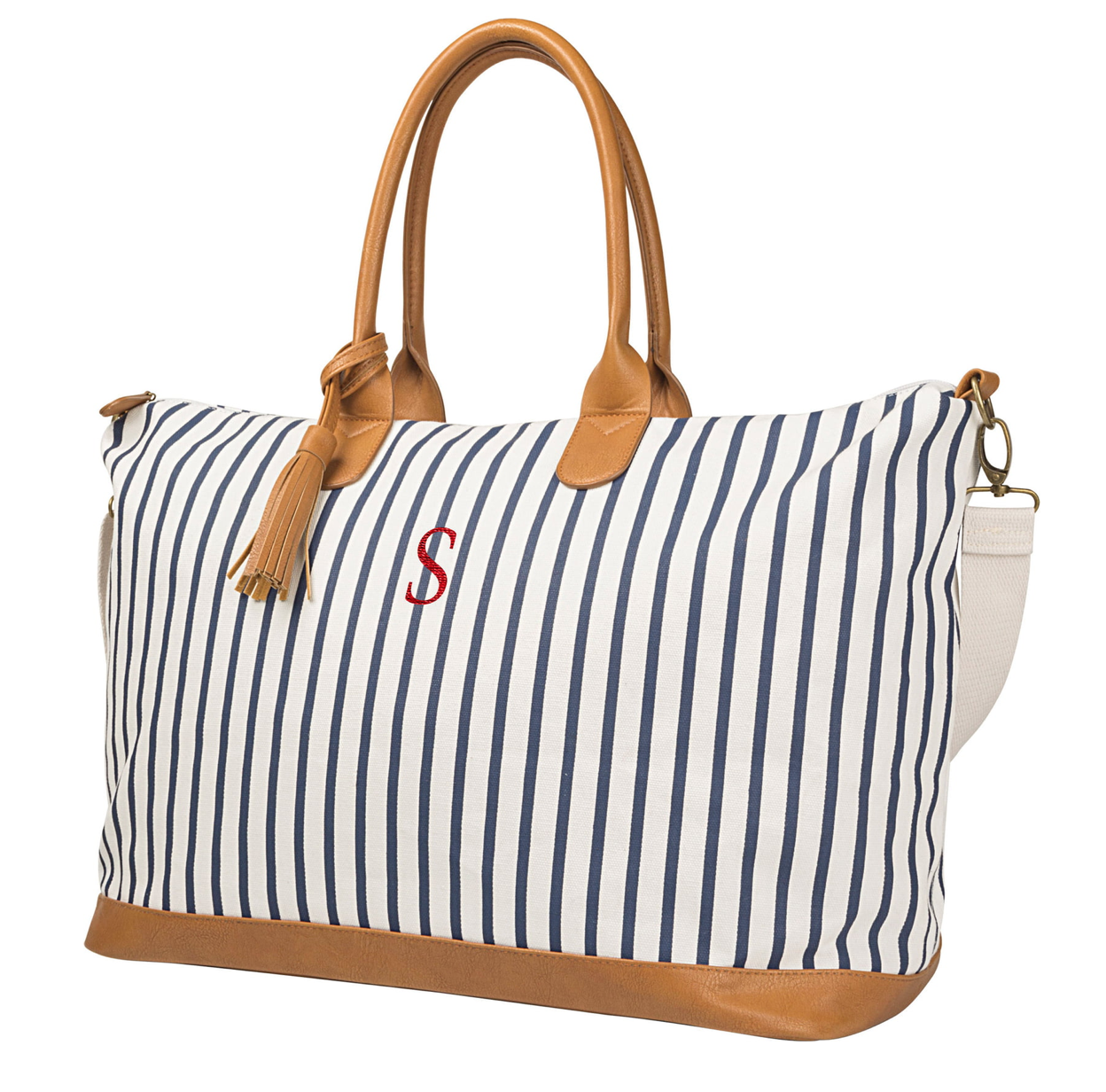 Cathy's Concepts Monogrammed Oversized Tote