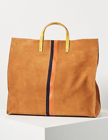 Clare V. Simple Stripe Tote Bag