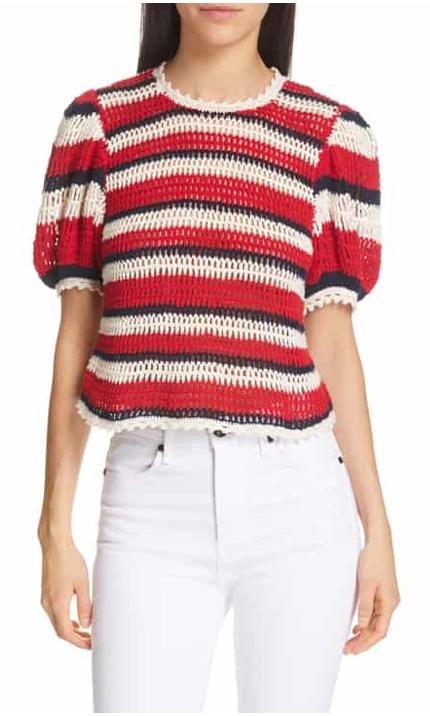 Ulla Johnson Amata Puff Sleeve Sweater
