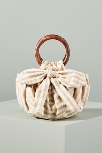 Anthropologie Pippa Bow Tied Bag
