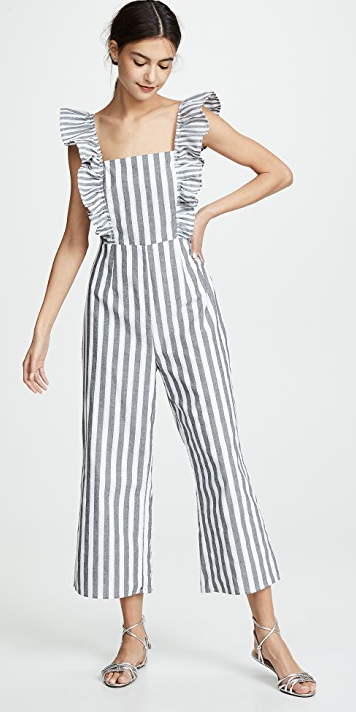 The Fifth Label Flora Stripe Jumpsuit