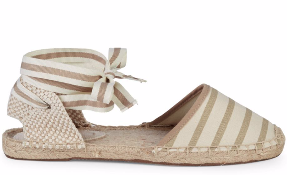 Soludos Classic Striped Espadrilles in Natural