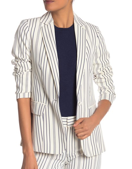 Frame Denim True Stripe Blazer