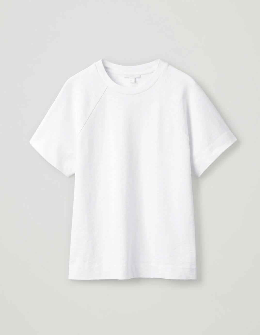 Raglan-Sleeved Jersey T-Shirt