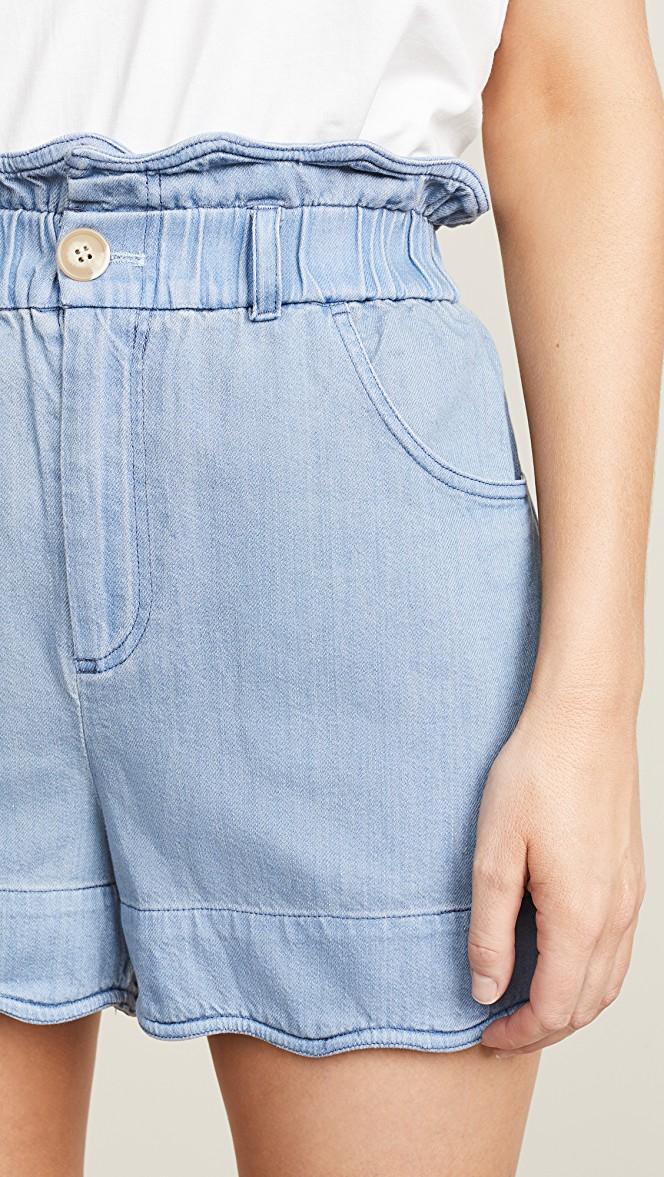 Sea Dakota Scalloped Shorts