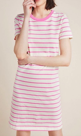 Stateside Striped Jersey Dress