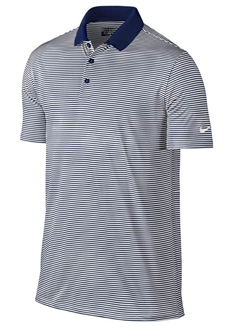 5afa16766b6 NIKE Men's Dry Victory Stripe Polo
