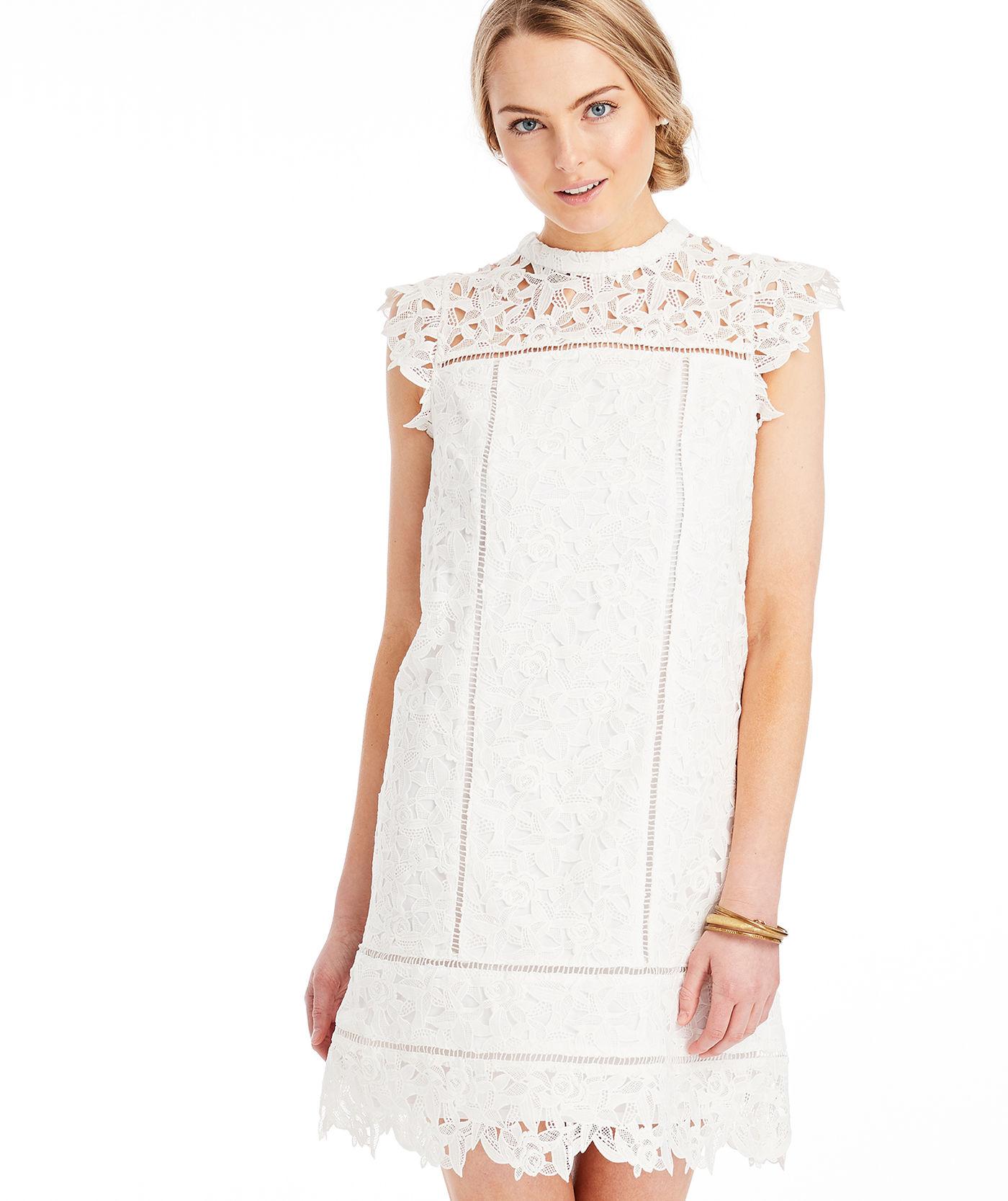 Vineyard Vines Lace Shift Dress