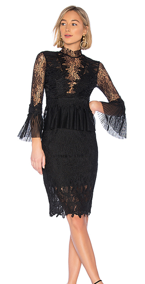 Bardot Frankie Lace Dress