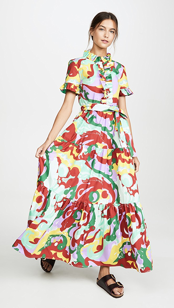 La Double J Long and Sassy Dress