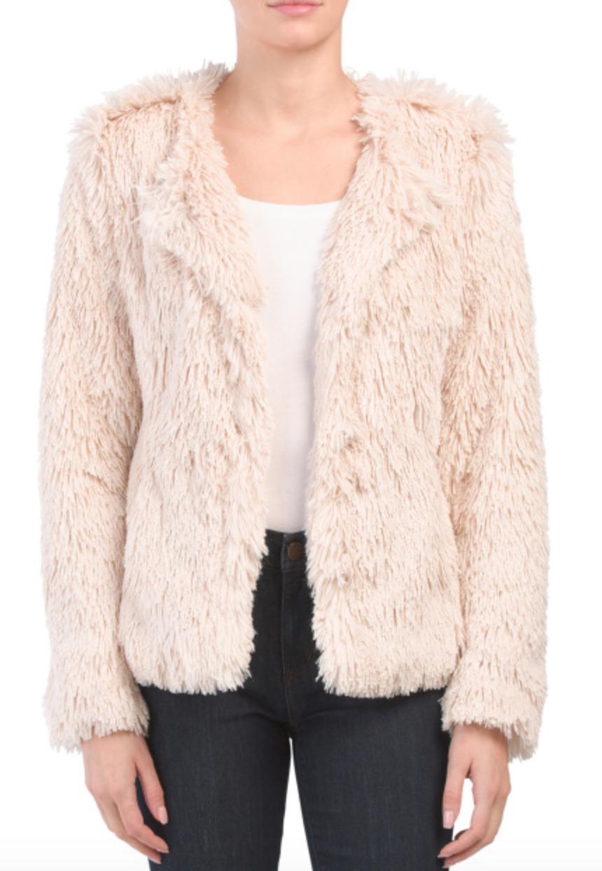 Sanctuary Stella Fur Jacket