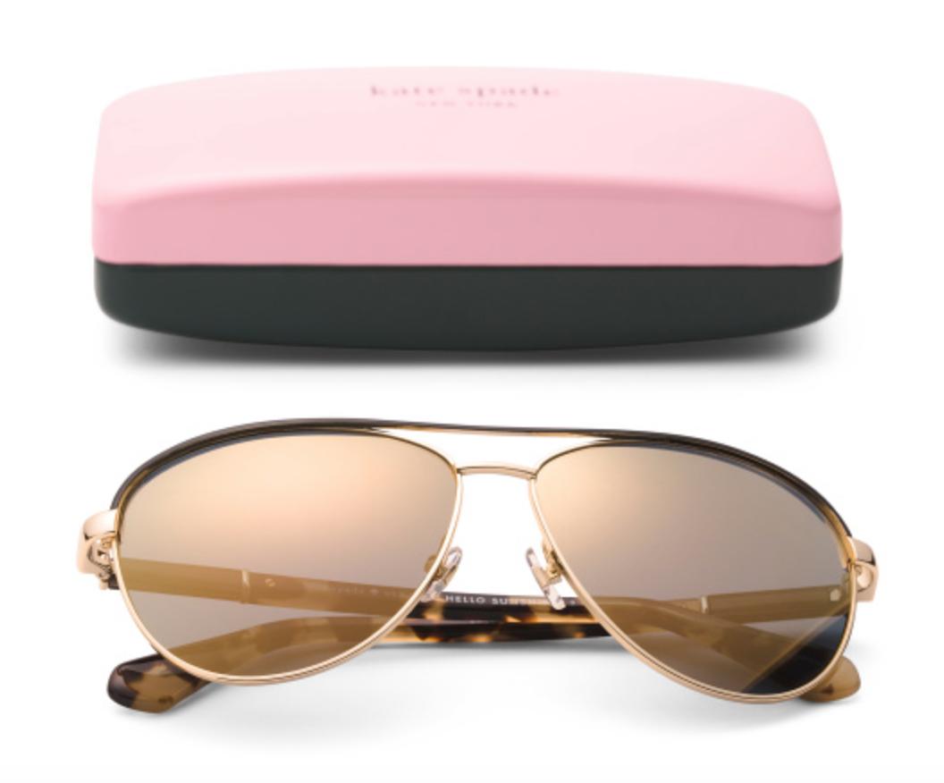 Kate Spade 59mm Emilyann Aviator Designer Sunglasses