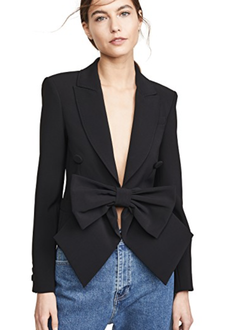 Moschino Bow Front Blazer