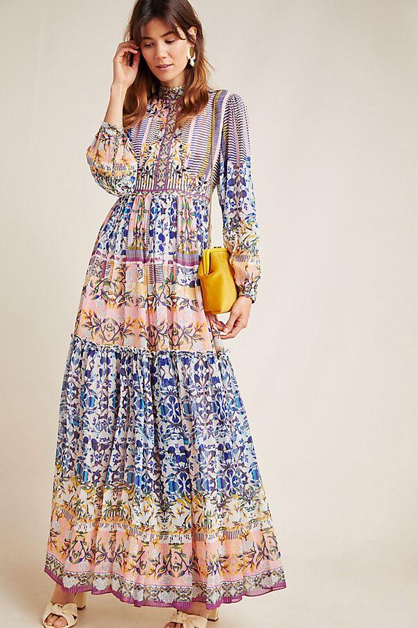 Anthropologie Anastasia Maxi Dress